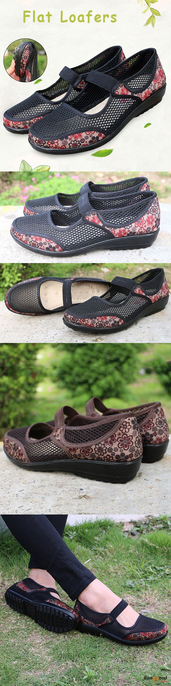 US$22.66+Free shipping. Size(US): 5~11. Summer Sandals, Women Flat Sandals, shoes flats, shoes sandals, Loafer Shoes, Casual, Outdoor, Comfortable. Color: Black, Coffee. Upper Material: Mesh & Cloth. Heel Height: 2cm. Platform Height: 2cm.
