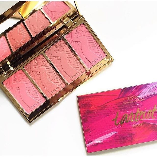 Who's lovin' our NEW limited-edition tarteist blush palette? Get this bad boy now on tarte.com! #blushauthority #tarteist #blush #Spring #tartelette #beauty