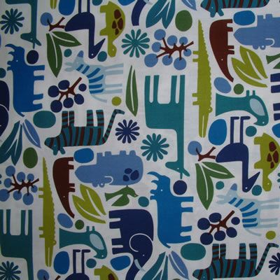 AH 2-D Zoo Blue 1/2 METRE