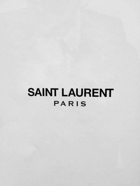 Saint Laurent Paris by Slimane _