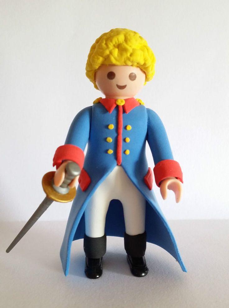 FIGURA CUSTOM El Principito - Le Petit Prince - PLAYMOBIL Más