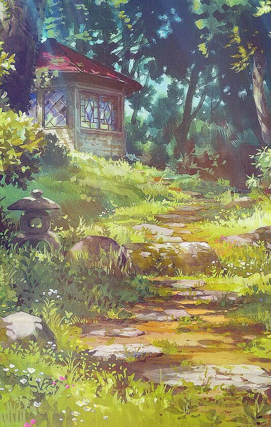 Aprettyfire Ghibli Scenery IPhone Backgrounds For Anon