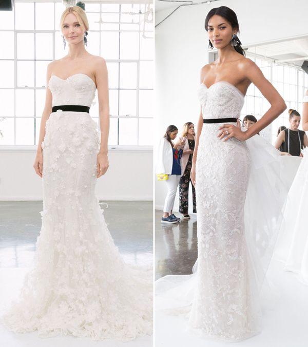 Vestidos de noiva Marchesa - Spring 2018 - Constance Zahn | Casamentos
