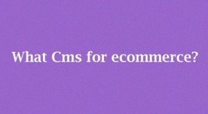 Which CMS is perfect for a Successful Ecommerce Website? To know more just visit our site ~ http://www.blisstering.com/