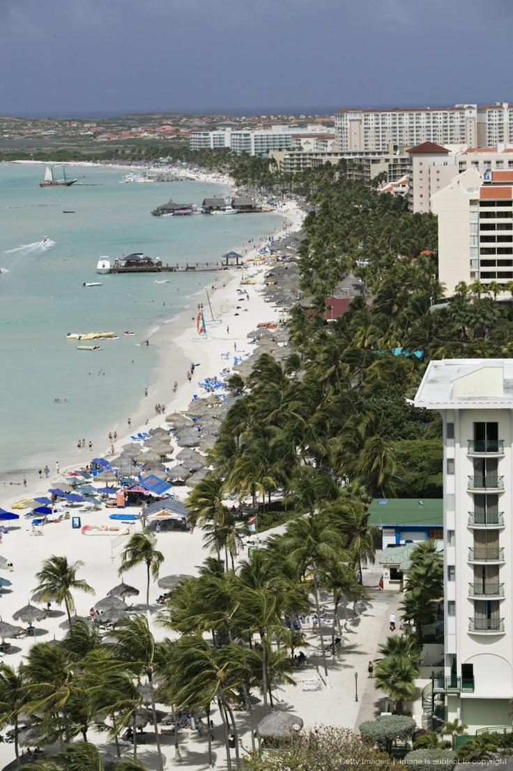 High Rise Resort Area Palm Beach Aruba