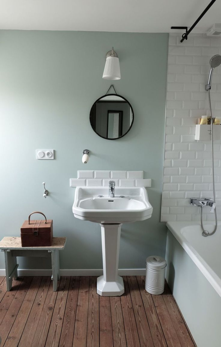 Replacing a retro coloured bathroom suite - Salle De Bain D Co Vintage Et R Tro
