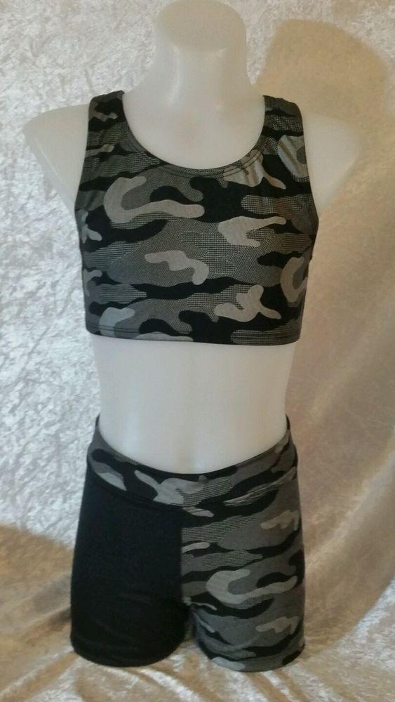 Size 10 Crop Top & Shorts Set. Gymnastic/Dance in Clothing, Shoes, Accessories, Dancewear, Children's Dancewear | eBay!