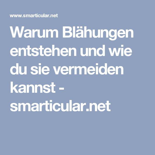 Warum Blähungen entstehen und wie du sie vermeiden kannst - smarticular.net