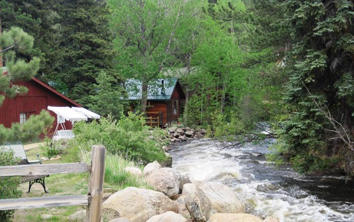 190 best places to go images on pinterest for Estes park lodging cabins
