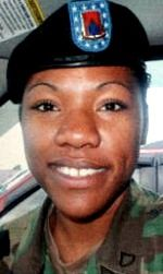 Army SGT Wakkuna A. Jackson, 21, of Jacksonville, Florida. Died August 19, 2006, serving during Operation Enduring Freedom. Assigned to 710th Combat Support Battalion, 3rd Brigade Combat Team, 10th Mountain Division, Fort Drum, New York. Died of injuries sustained when an improvised explosive device detonated near her vehicle while moving medical supplies in a combat convoy operation in Pech District, Kunar Province, Afghanistan.