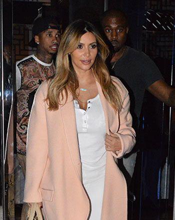 Kim Kardashian, Kanye West Double Date With Tyga and Blac Chyna: Picture