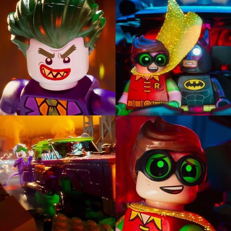 First look at Robin and The Joker from The LEGO Batman Movie #LEGOBatmanMovie…