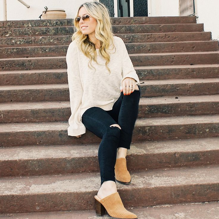 Mules, Mule Shoes Outfit, Winter Fashion, Spring Fashion