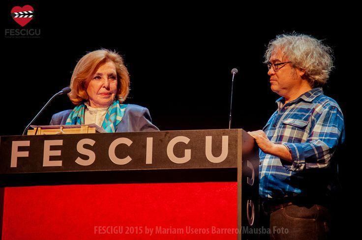 María José Alfonso y Dionisio Pérez. Gala de Clausura. Fecha: 03/10/2015. Foto: Mariam Useros Barrero/Mausba Foto.