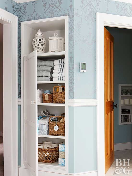 Towels, Sheets, And Blankets Are Necessities But Can Be A Headache To  Organize. Keep Your Linen Closet In Tip Top Shape With A Few Organizing  Tools.