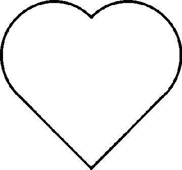 Inspiring Printable Template In Our Heart Images Love Free Coloring Pages Pattern