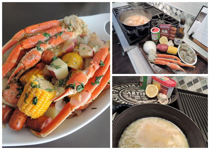 Cajun Shrimp and Crab Boil