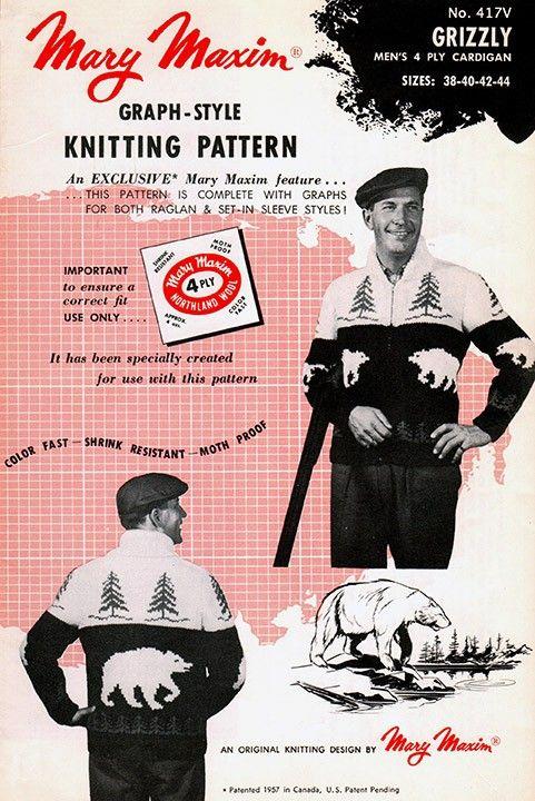 Use Mary Maxim Titan yarn to knit this cardigan.