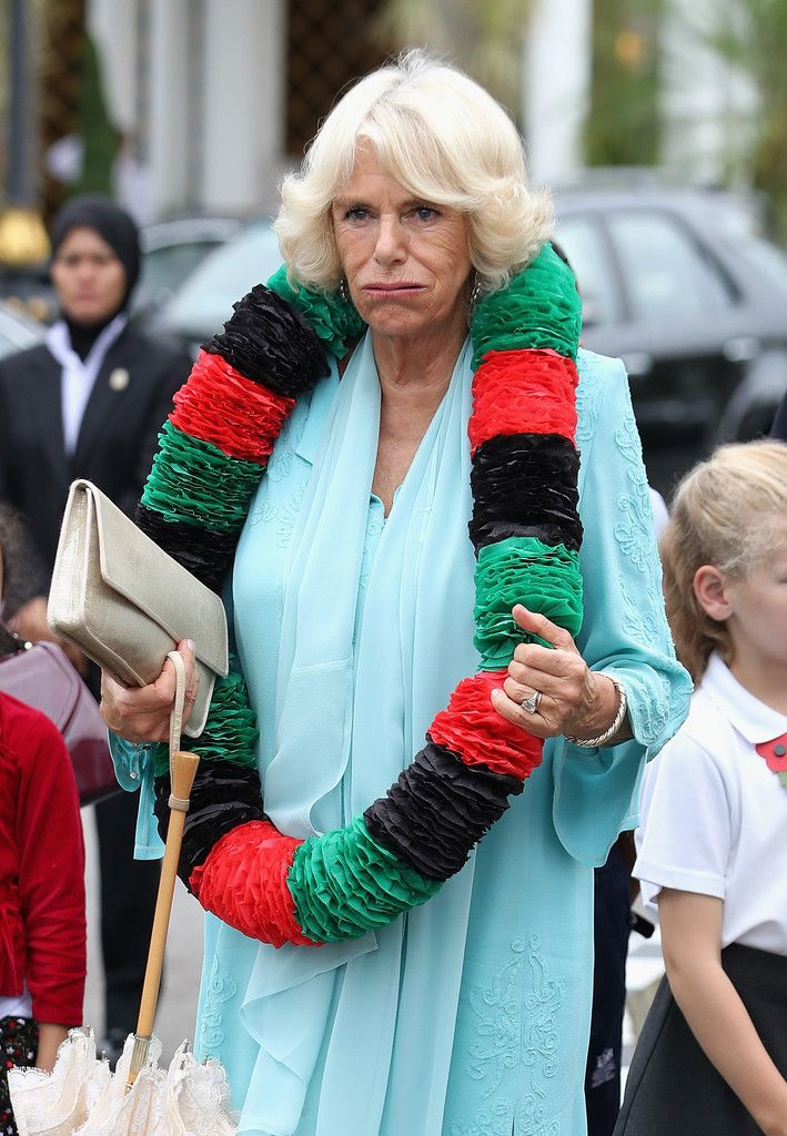 Camilla Parker Bowles, confirms Prince Charles is blind..