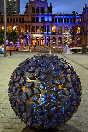 Space Ball Brisbane Queensland Australia #CityEdgeBrisbane #City_Edge_Apartment_Hotels https://www.cityedge.com.au/page/city_edge_brisbane_cbd.html