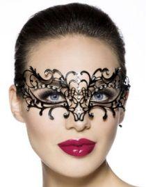 Masque gothique victorien en métal