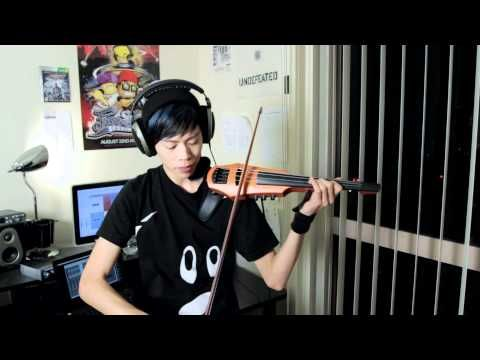 Heartbeat on the electric violin