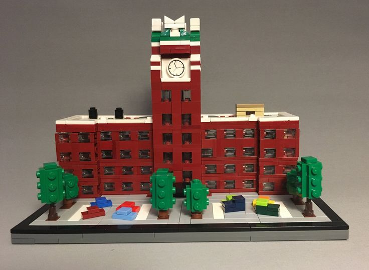 Microscale Starbucks corporate headquarters in Seattle | by Koffy Kat Alpha