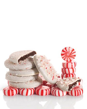 Chocolate Peppermint Cookies - Martha Stewart... Cookie Exchange