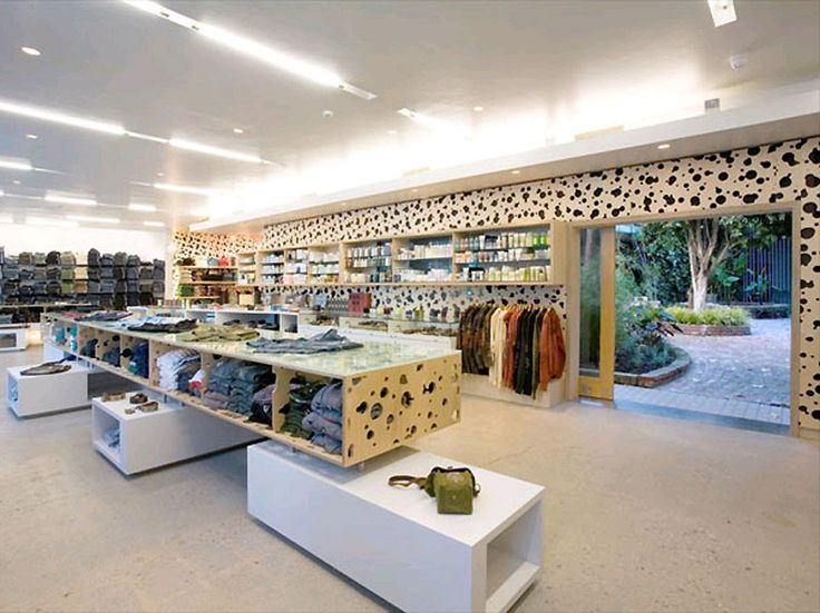 Clothing Retail Interior Designs