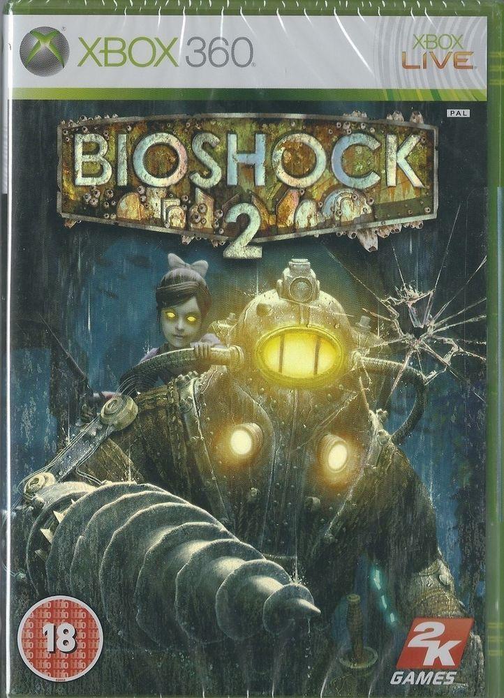 Xbox 360 Bioshock 2 ( Xbox One compatible)