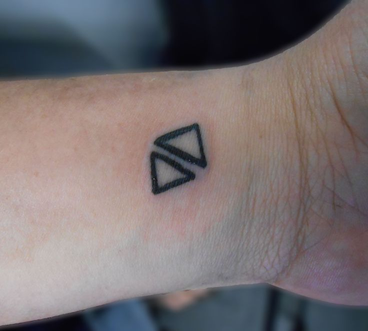 65 Best Triangle Tattoo Designs Meanings: Top 25+ Best Triangle Tattoos Ideas On Pinterest