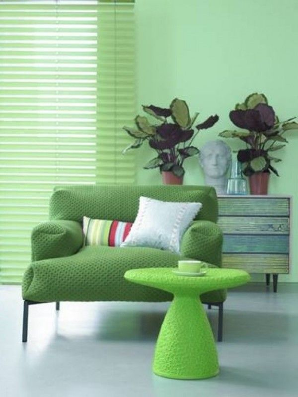 Green Interior Ideas For Your Home: GREEN INTERIOR On Pinterest