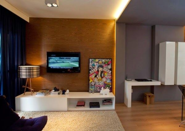 Beautiful Small Apartment Design by Maurício Karam ~ Goods Home Design