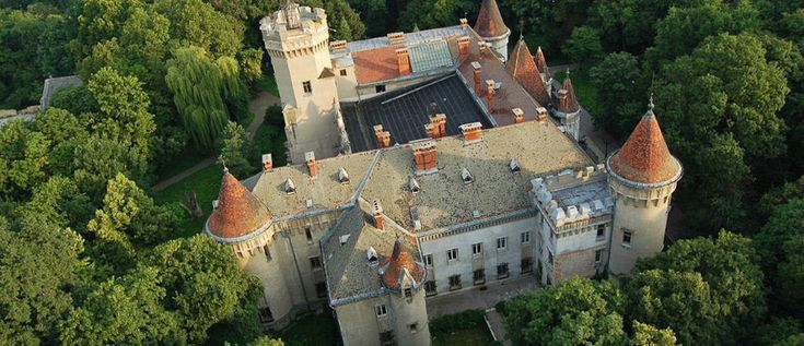 Karoly castle, Satu-Mare, Romania