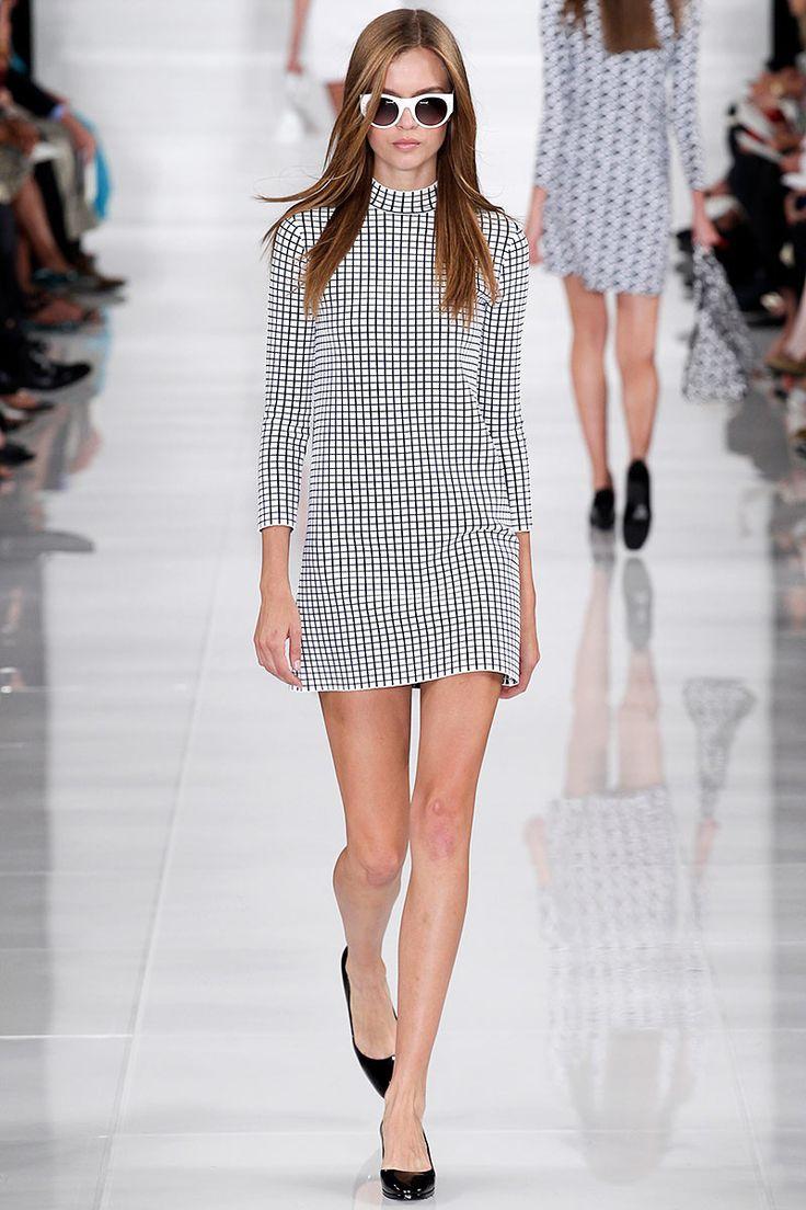 Estampados geométricos- Look de Ralph Lauren. Reporte tendencias moda primavera verano 2014