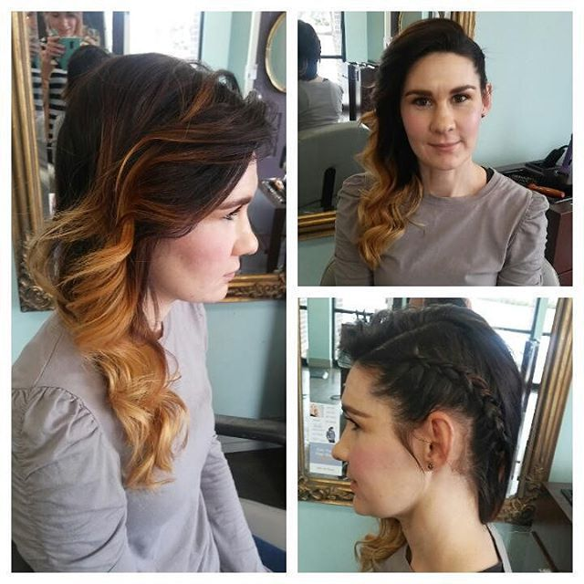 Cute Asymetrical Style For My Beautiful Coworker Tina Hair Hairbrained Cosmetology