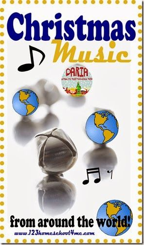 Christmas Music from Around the World - great for a homeschool or december unit study on Spain or Germany