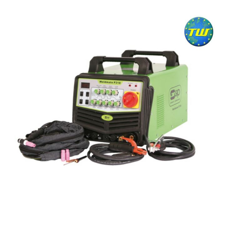 SIP 05271 Weldmate P318HF AC/DC TIG/Arc Inverter Welder with Pulse 3 Phase - 315A TIG - 290A Arc http://www.twwholesale.co.uk/product.php/section/7130/sn/SIP05271