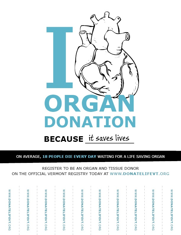 I Heart Organ Donation ToolkitDonate Life Vermont | Donate Life Vermont