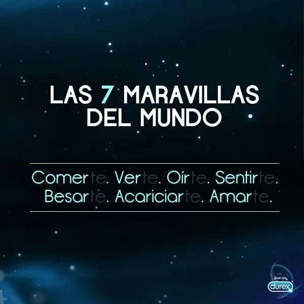 Las 7 maravillas del mundo s♥n....