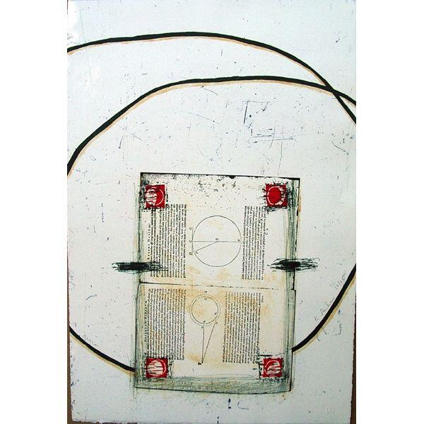 Kingsley Parker - Opera  letterpress, etching, aquatint, carborundum    22.5 x 15    $450