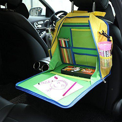 plateau de voyage pour enfant tablette de voyage organiseur de voiture tient des marqueurs de. Black Bedroom Furniture Sets. Home Design Ideas