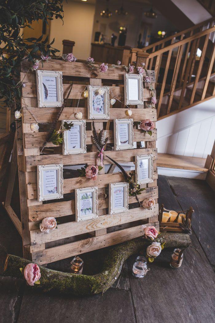 Ein Wald Boho Hochzeitsshooting in Oxfordshire