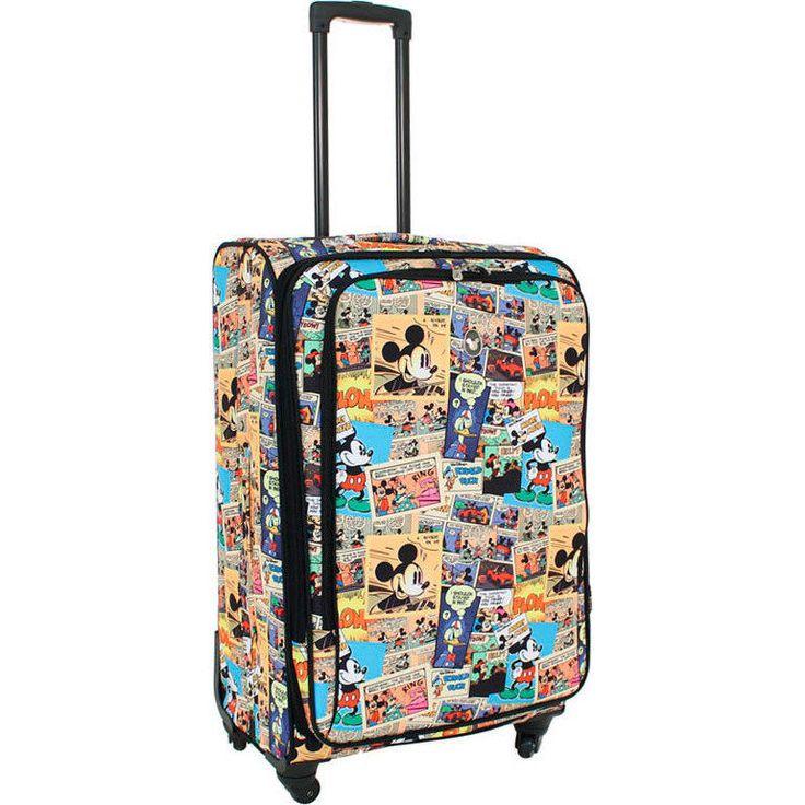 Disney Comic Large 4 Wheel Suitcase 28 Inch   Buy 4 Wheel Suitcases