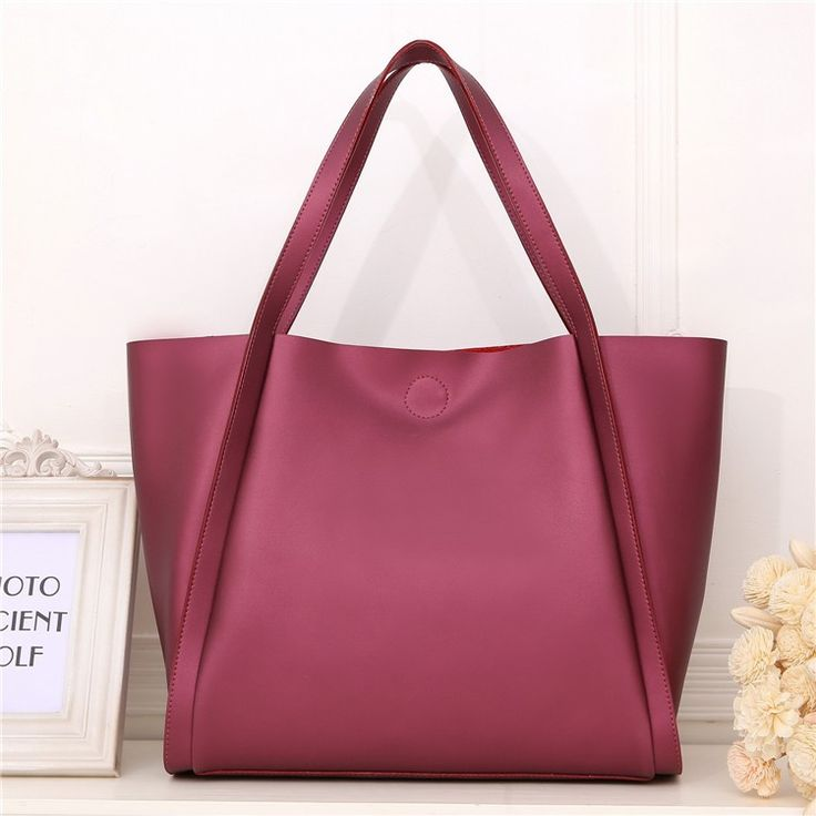 Dark Red Leather for Women