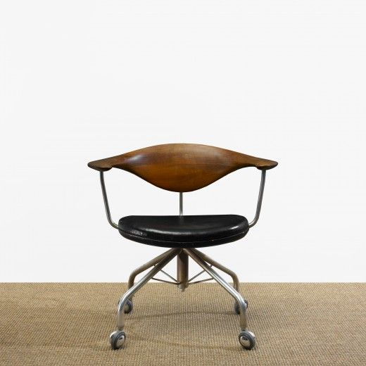 chairs office chairs hans wegner swivel chair danish design forward