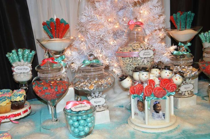 Winter ONEderland birthday party! See more party ideas at CatchMyParty.com!