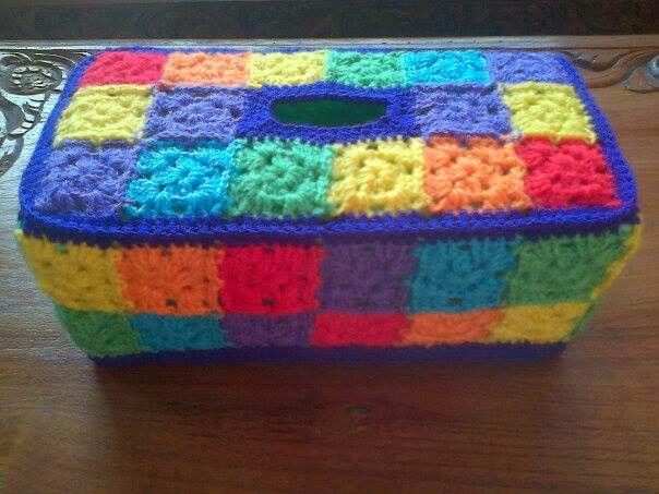 Granny square Rainbow