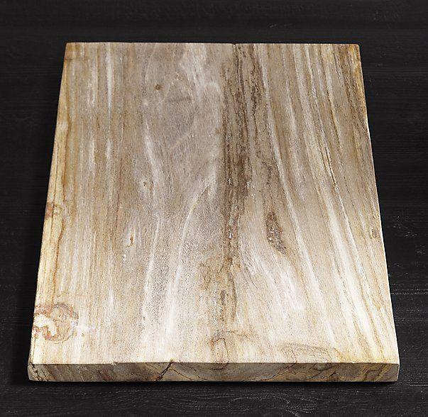 Petrified Wood Cheese Boards