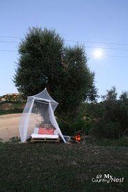 My country nest: Riciclo DIY: pallet per un divano rustico